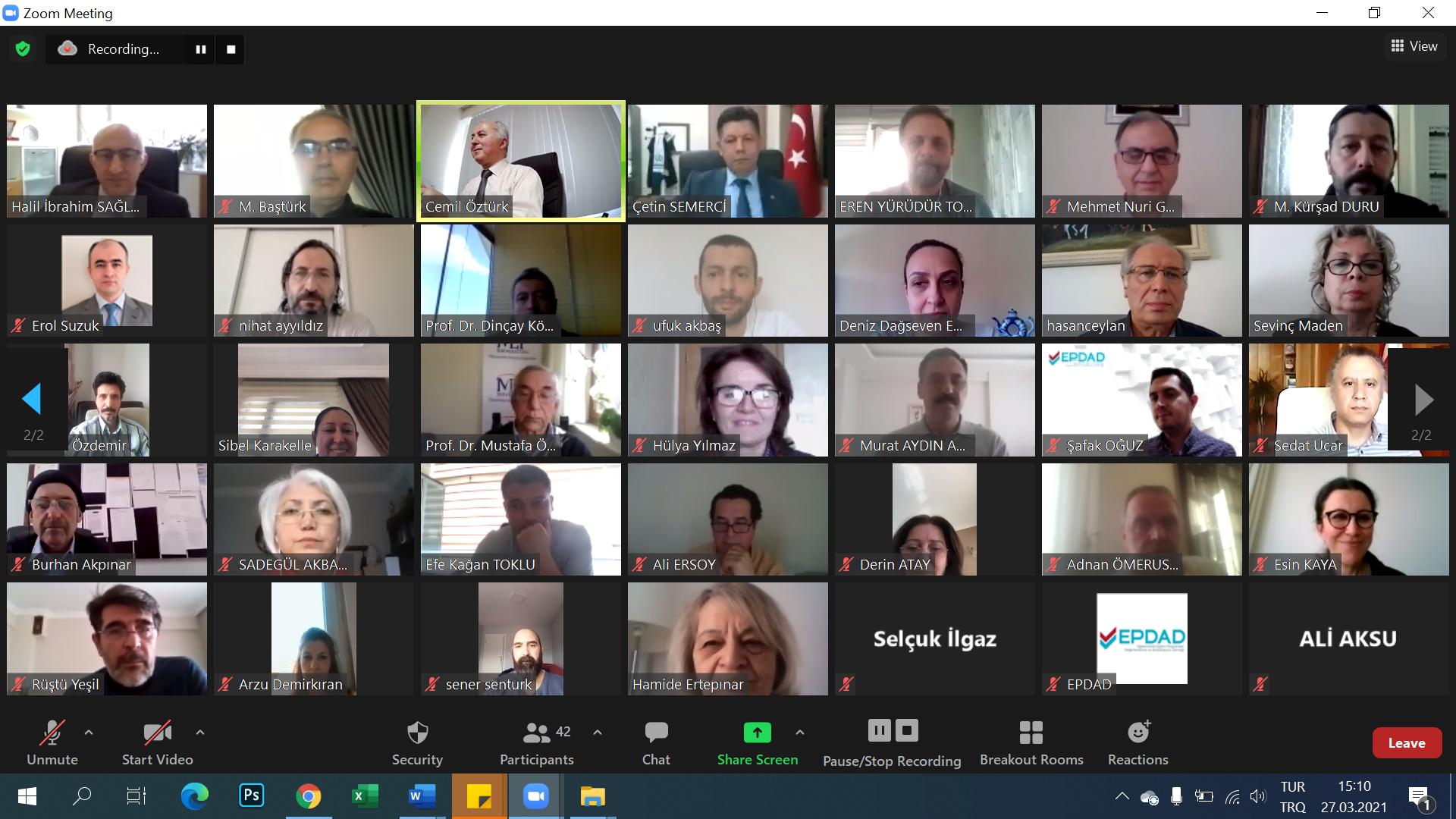EPDAD - Öğretmen Yetiştiren Kurumlar Bilgilendirme  ve Paylaşım Toplantısı