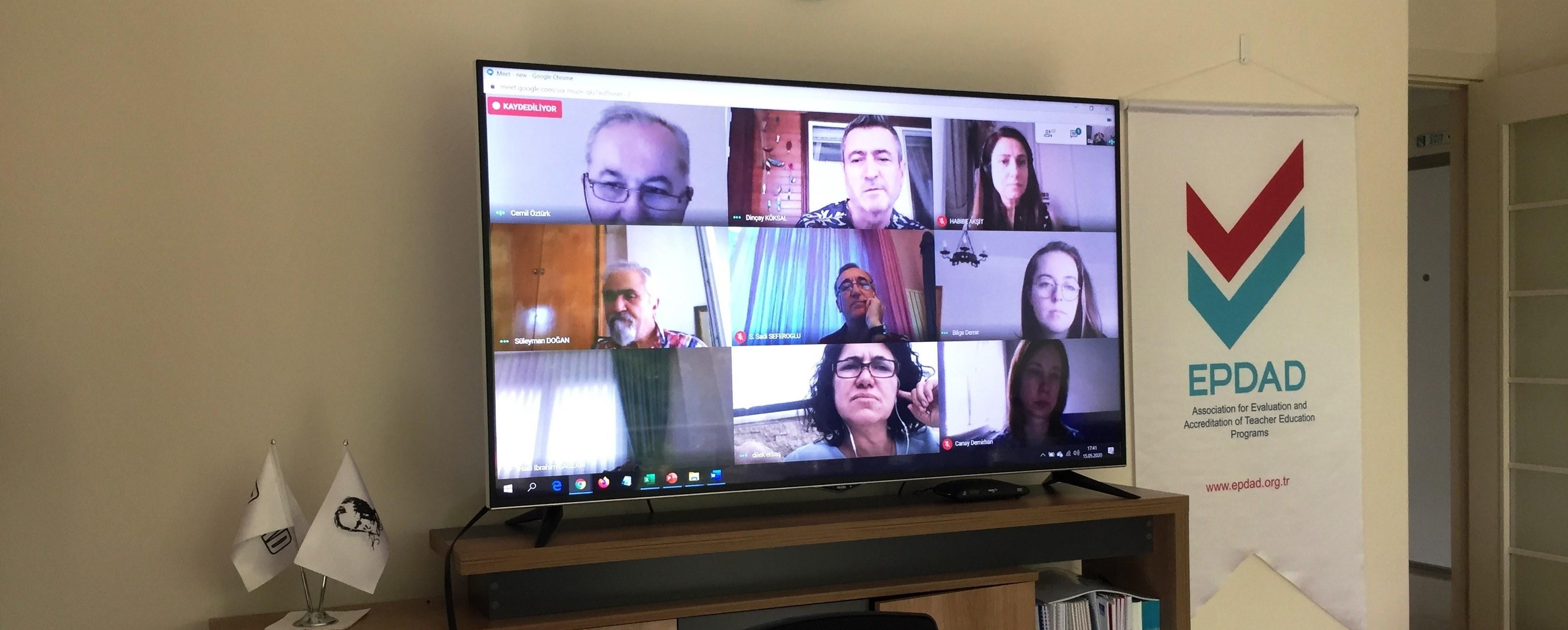 EPDAD 2019-2020 Dönemi Akreditasyon Kurulu Toplantısı
