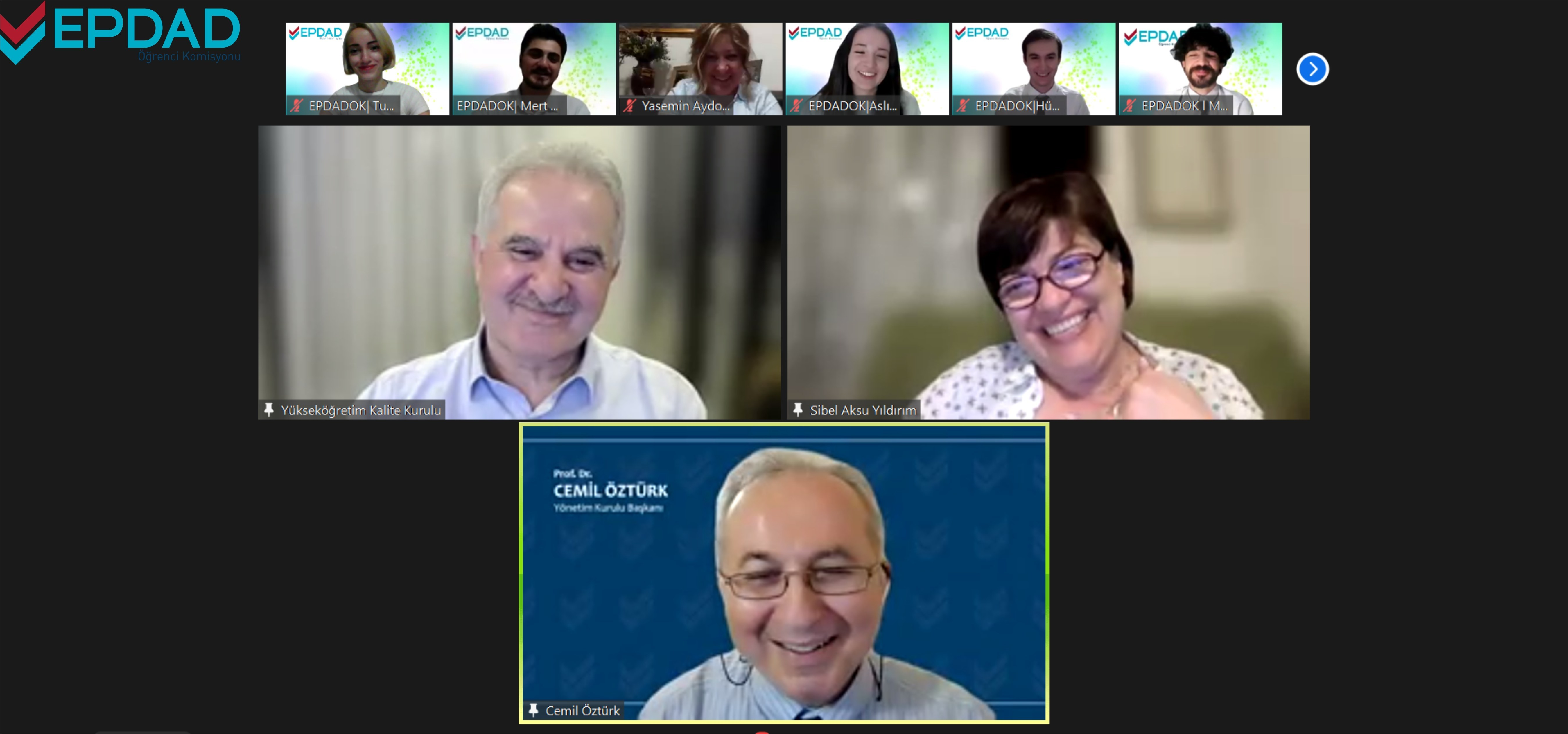 EPDAD Student Commission Held its First Webinar