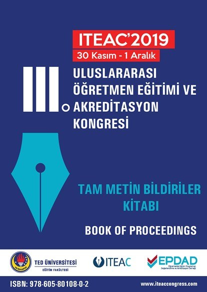 ITEAC 2019 Tam Metin Bildiriler